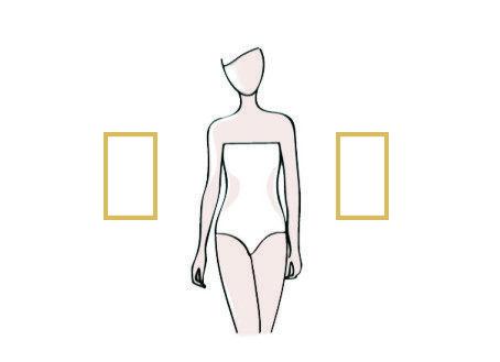 kształt sylwetki prostokąt