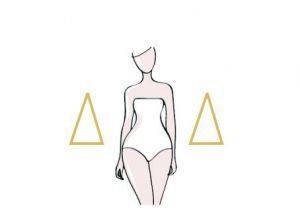 kształt sylwetki - trójkąt