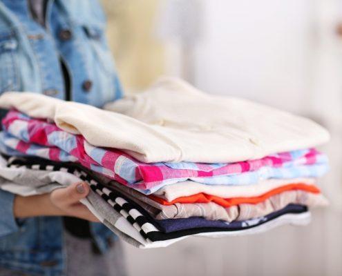 co zrobić ze starymi ubraniami